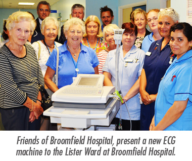 New ECG Machine Donated to the Lister Ward