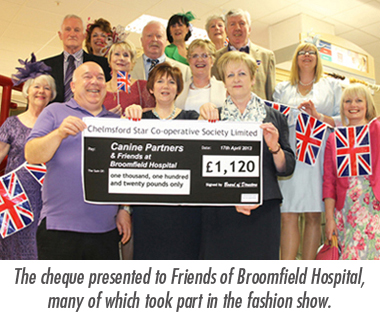"""Go British"" Event & Fashion Show raises over £500."