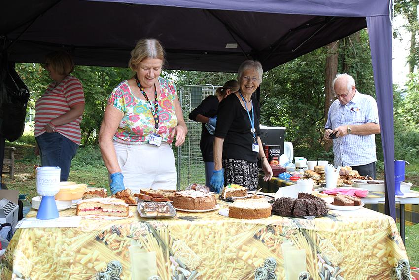 Tea, Cake and lots of fun.