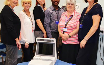 New Verifit Scanner donated by the Friends