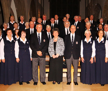 Essex Police Choir are proud to have Friends at Broomfield Hospital as one of it's two chosen charities for 2015