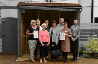Hospital appeals for fundraisers to help support second specially designed garden for the elderly and people with dementia.