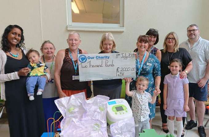 Cleft Fundraising Buys New Bottles and Breastfeeding Pumps