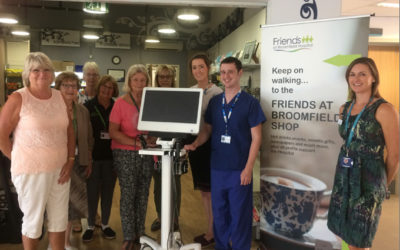 The Friends at Broomfield Hospital fund £40,000 equipment to help patients with swallowing and voice impairments.